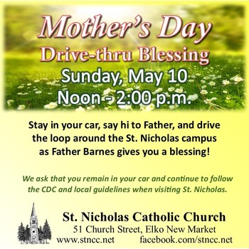 Mother's Day Drive-thru Blessing
