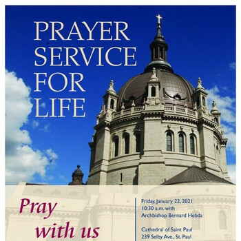 March for Life (live-stream on St. Paul Cathedral's Facebook page)