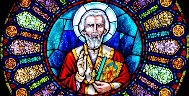 Image result for st nicholas stained glass window