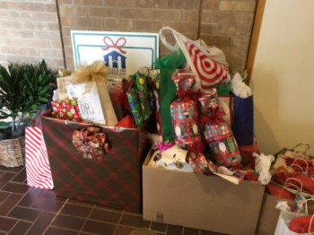 THANK YOU !! Meals on Wheels Christmas Gift Donations!