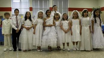 First Communion, Reception to Follow