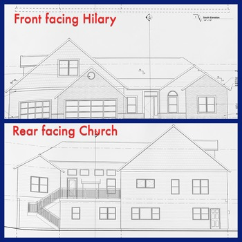 Question:  What type of house is being built for the priests?