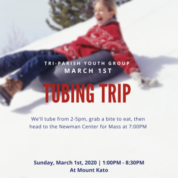 Youth Group: March - Snow Tubing