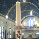 New Paschal Candle Honors RCIA Class