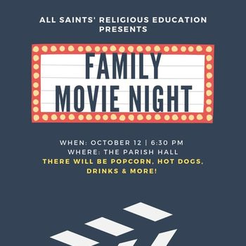 All Saints Family Movie Night