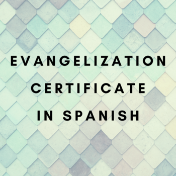 Information NIght for the Certificate in Evangelization - Spanish