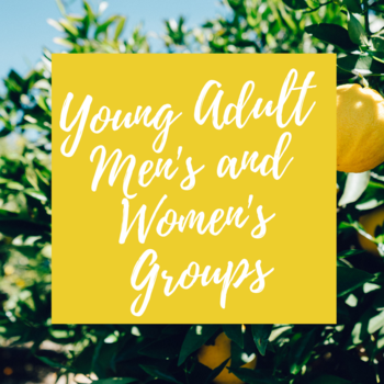 Young Adult Men's and Women's Groups