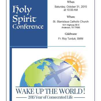 Holy Spirit Conference 2015