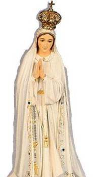 Pilgrim Virgin Statue (Our Lady of Fatima) pick up and delivery