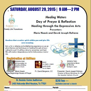 Healing Waters (Day of Prayer & Reflection)