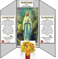 Set Up of Altars Honoring Our Blessed Mother Mary