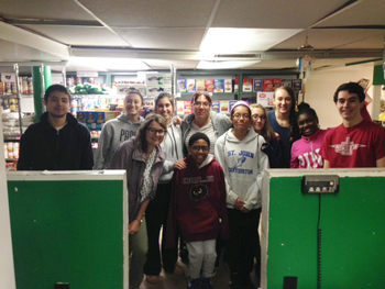 Service & Pizza: St. Katharine Drexel's Food & Clothing Cupboard