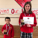 Sts. Joachim & Ann students earn a Big Win for Science!