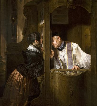 The Confession by Giuseppe Molte