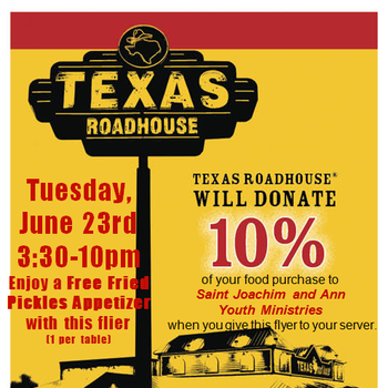 Texas Roadhouse Dine and Donate