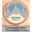Parish helps create banner for canonization