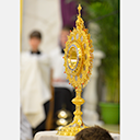 Blessing of New Monstrance