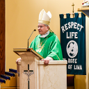 Bishop visits St. Rose of Lima Parish