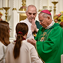 Bishop visits West Milford parish