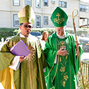 Visit from two bishops