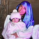 Live Nativity first for cathedral