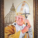 Shrine dedicated to St. John Paul II