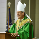 Young adults welcome Bishop