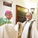 Bishop visits Nazareth Village
