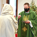 Bishop visits Bethlehem Hermitage