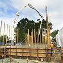 New construction at Holy Sepulchre Cemetery