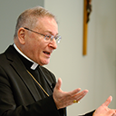 Bishop holds dialogue with Deacons