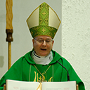 Pastoral visit, blessing of throats