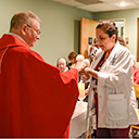 Bishop blesses new chapel