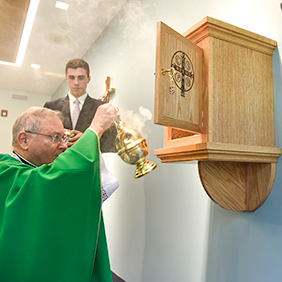 Oratory blessed at Delbarton