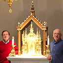 Baldacchino installed at cathedral