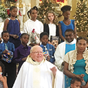 Diocesan priest delivers Christmas