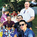 Barbecue for seminarians