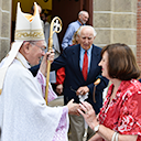 Bishop visits Passaic parish
