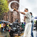 50th annual Motorcycle Mass