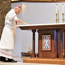 New altar at St. Clare Church