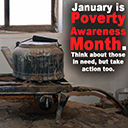 Poverty Awareness Month