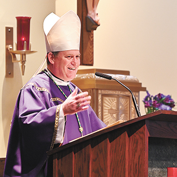 St. Mark parish welcomes Bishop