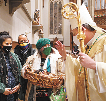Bishop's First Christmas in Diocese