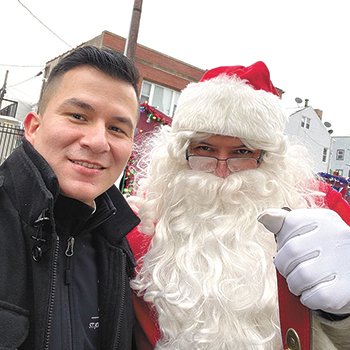 Christmas arrives early in Paterson