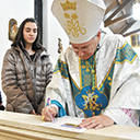 Pastoral visit to Rockaway parish