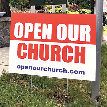 'Open our church'