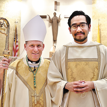 New transitional deacon