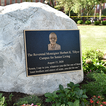 Campus named for Msgr. Tillyer
