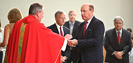 Diocese's Red Mass honors past recipients of Advocati Christi Award