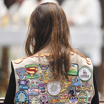 Annual Scout Sunday Mass